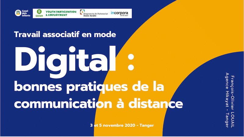 Ateliers de formation à la communication digitale